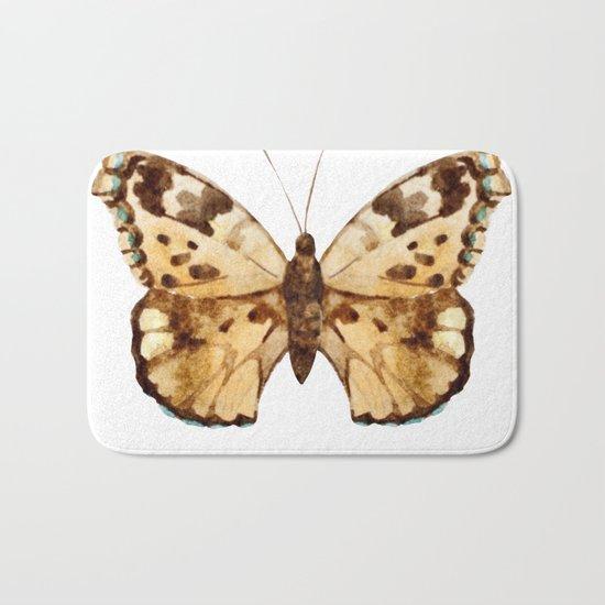 Butterfly 10 Bath Mat