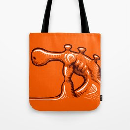 The Face Off Tote Bag