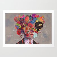 The Deterioration of the Mind And the Disappearance of Car Keys Art Print