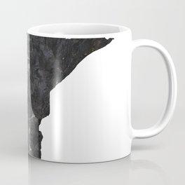Minnesota Map Outline-North Shore Texture Coffee Mug