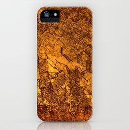 Matchstick World iPhone Case