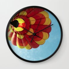 Up, Up and Away - Hot Air Balloon Wall Clock