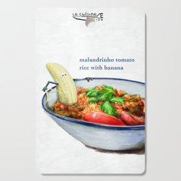 La Cuisine Fusion - Malandrinho Tomato Rice with Banana Cutting Board