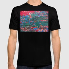 Chipping Paint Mens Fitted Tee MEDIUM Black