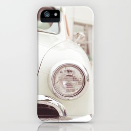 On The Car iPhone Case