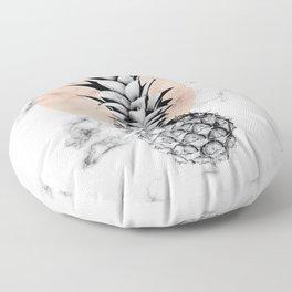 Marble Pineapple 053 Floor Pillow
