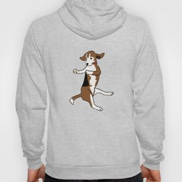 The Dancing Beagle Hoody