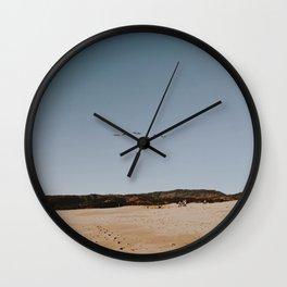 HALF MOON BAY IV Wall Clock