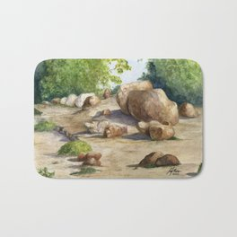 A Walk In the Arboretum Bath Mat