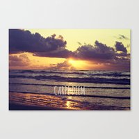 carpe diem Canvas Prints featuring Carpe Diem by Libertad Leal Photography