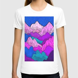 The night time hills T-shirt