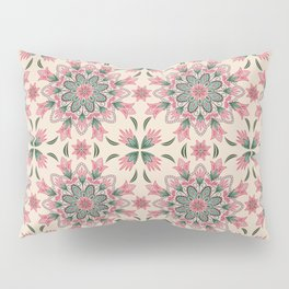 Midsummer Mandala Pillow Sham