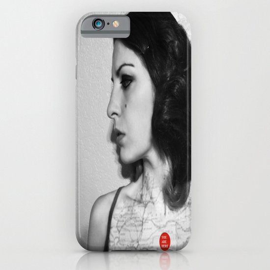 You are here in my heart iPhone & iPod Case