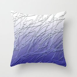 Dream of blue Throw Pillow