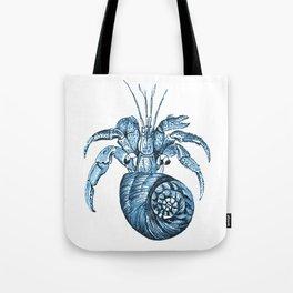 Fish nautical sea blue watercolor Tote Bag