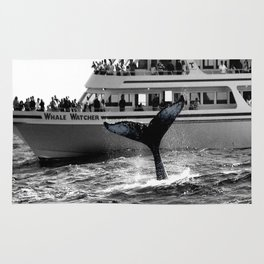 A Whale Of A Tale photography Rug