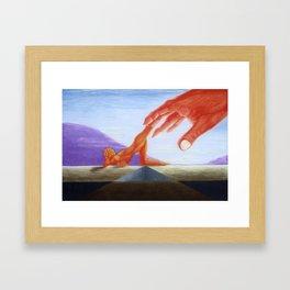 Emotional Landscape Framed Art Print