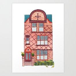 Brooklyn House 6 Art Print