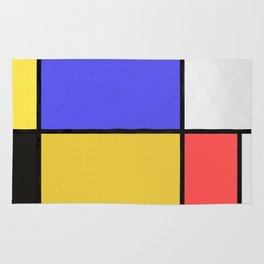Piet Mondrian Patterns Rug