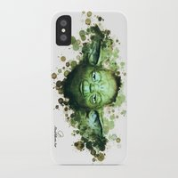 yoda iPhone & iPod Cases featuring Yoda by Rene Alberto