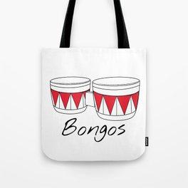 Bongos Tote Bag