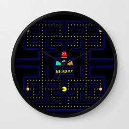 Pac Man Wall Clock