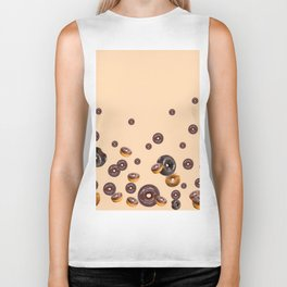 LOVE MY CHOCOLATE  DONUTS Biker Tank