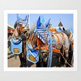 Haufbraugh Horses Art Print