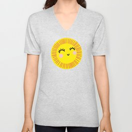 Sunny side up Unisex V-Neck