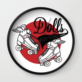 Dolls Wall Clock