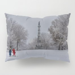 Boston Common, first show of the seson Pillow Sham