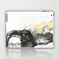 Tetons On My Mind  Laptop & iPad Skin