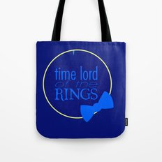 Time Lord of the Rings Tote Bag