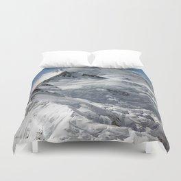 Denali Peak Duvet Cover