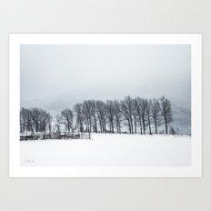 White winter II Art Print