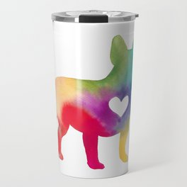 French Bulldog Love Travel Mug