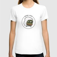 meme T-shirts featuring MEME LORD by tRUSTY_Bot
