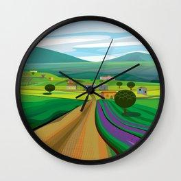 Walla Walla Wall Clock