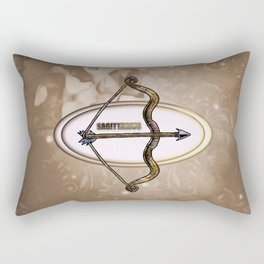 Zodiac sign sagitarius Rectangular Pillow