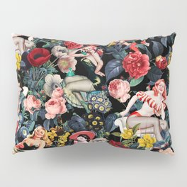 Floral and Pin-Up Girls IV Pillow Sham
