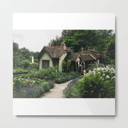 Bird Keeper's Cottage Metal Print