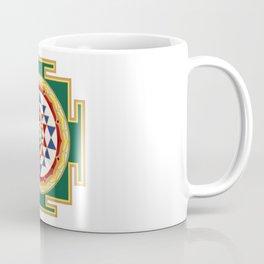 Sri Yantra colored Coffee Mug