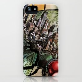 Dragonfly City iPhone Case