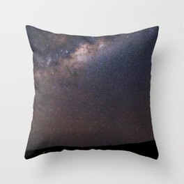 Milky Way in Chile Throw Pillow