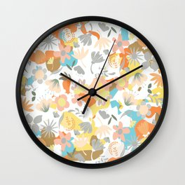 Divine floral Wall Clock