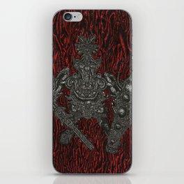 Mortimer iPhone Skin