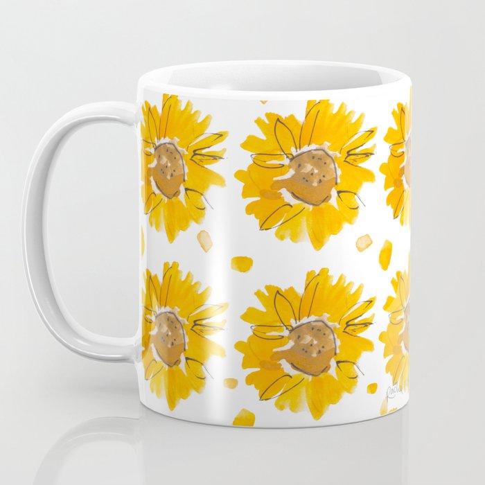 Sunny Sunflowers Coffee Mug