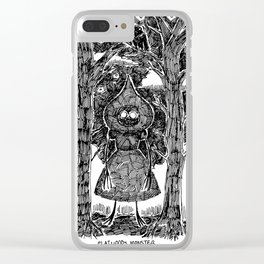 The Flatwoods Monster (WV) Clear iPhone Case