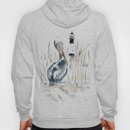 Tybee Island Pelican Hoody