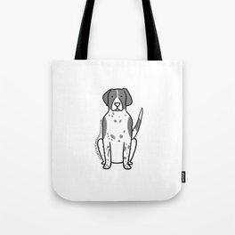 Maxi the Mixed Breed Tote Bag